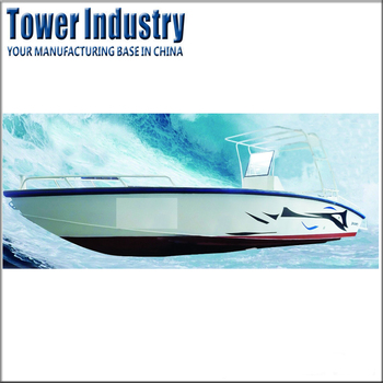 21ft CE Certificate Aluminum Sport Leisure Fishing Yacht Boat Made in China