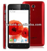 5'' MTK6572W Dual Core 1.3GHz 512M RAM+4G ROM Dual sim 3G Android 4.2.2 mobile phone Cubot Bobby