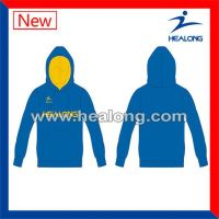 Healong Sublimation Transfer Embroidery El Wire Hoodie