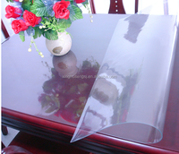 2mm Laminated soft glass ,high class pvc table protection cover