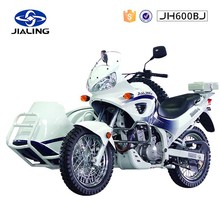JH600BJ 500cc electric sport motorcycle have exhaust system