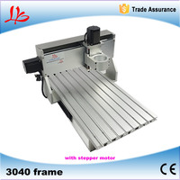 With stepper motor CNC 3040 frame, CNC machine frame