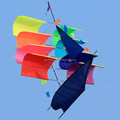 Chinese new style 3d boat kite