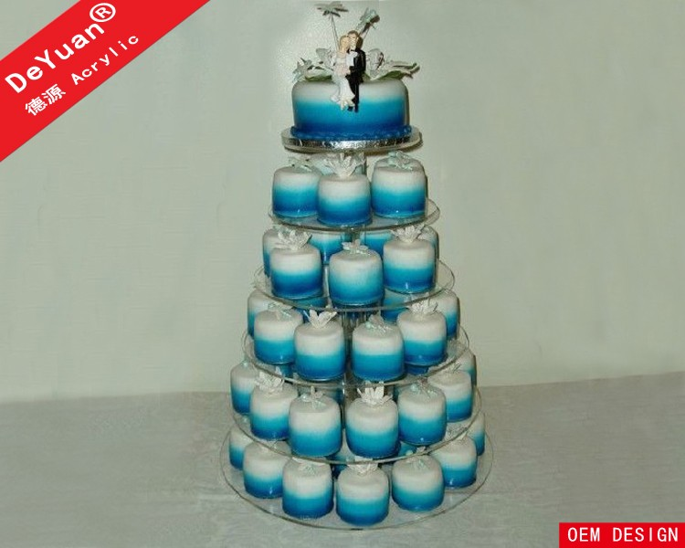 6 Tier Cupcake Stand With Good Quality Acrylic Material