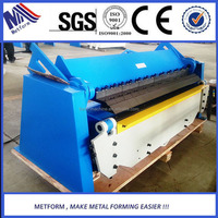 hand press brake sheet metal folding machine WH06-1.0x2000