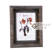 2016 new arrival natural wood rustic picture photo frames
