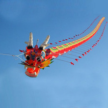 China traditional kite fly dragon kite show kite for decoration