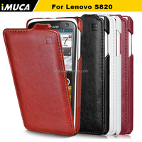 IMUCA mobile phone case for Lenovo S820 leather flip case