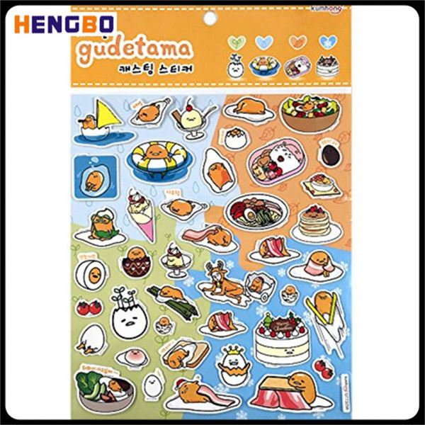 New product unique design dress up foam puffy sticker for kids from China
