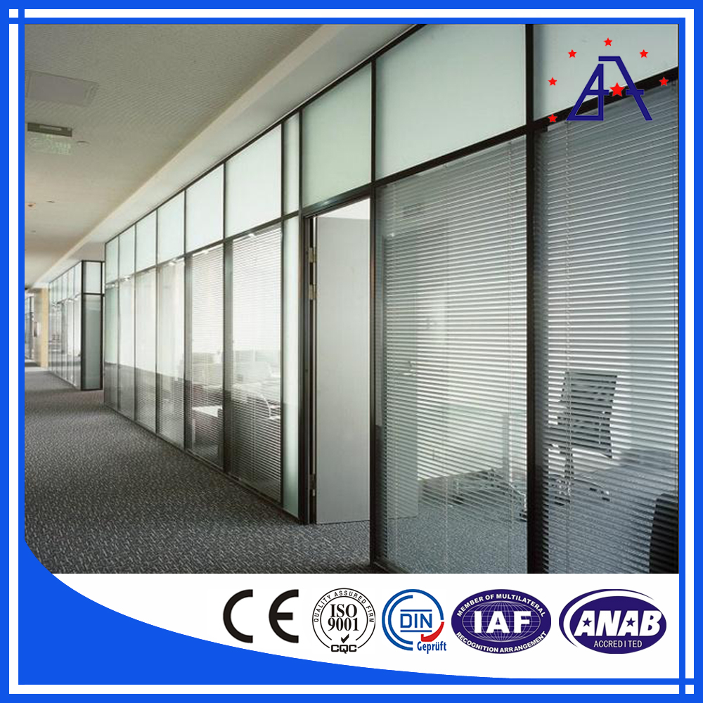 aluminum wall partition/aluminum screen partition/materials used building partition wall