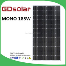 GD solar pv modules 185w usd 0.38
