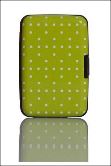 Green Dot Card Holder