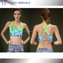 Newarrival Hot Sale Compressiom Top Comfortable Women Heather Custom Sports Bra