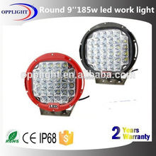9' halo ring 185w led work light waterproof led work lamp flood light 9 inch 185w led round work lamp