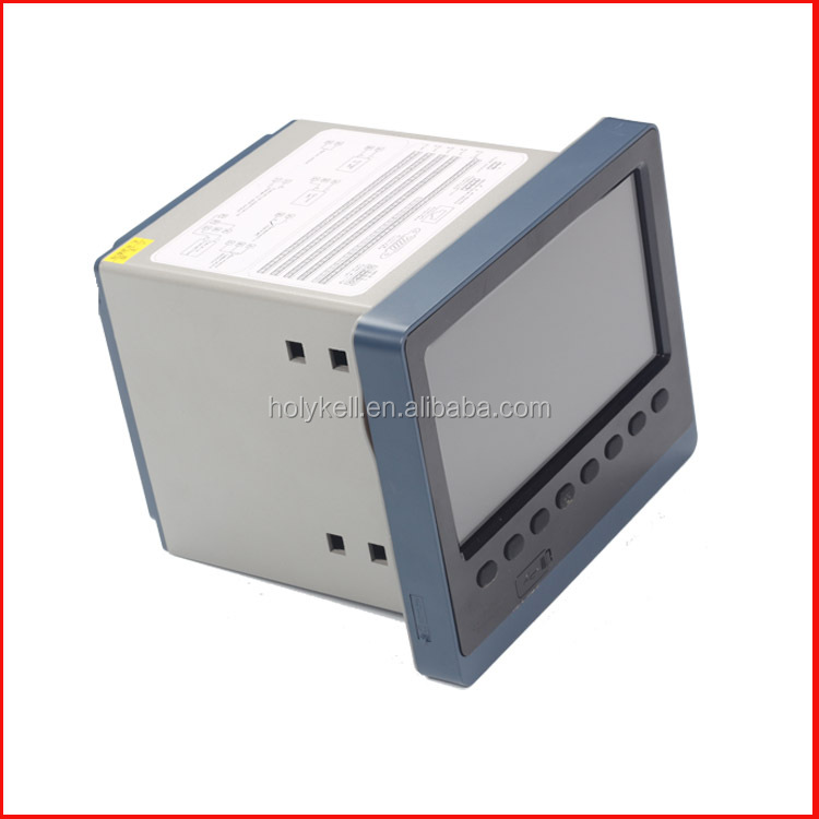 Multiple Channel Temperature Data Logger Voltage : Multi channel loop point input paperless data logger for