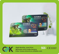 Luxury plastic 3d business card printing,lenticular business cards, 3d cards