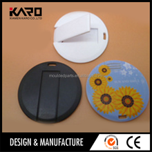 Round Elliptical Plastic Injection Mold Custom Laptop Shell