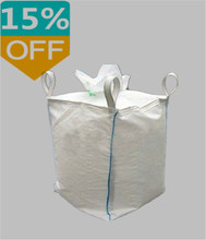 100% virgin pp factory price high quality jumbo bag for carbon black packing