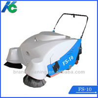 Electrical walk behind floor sweeper