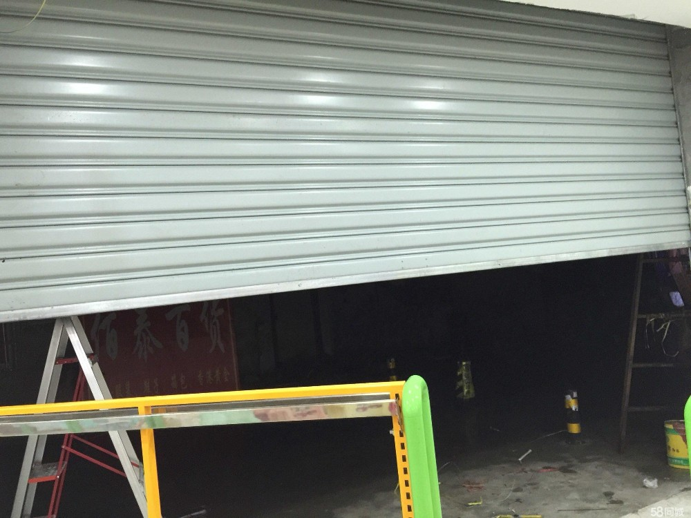 Anti-Wind Rolling Shutter Door