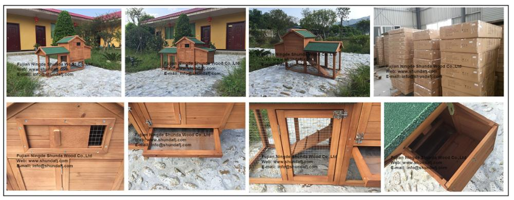 SDC009 High- quality Outdoor Wooden Chicken House