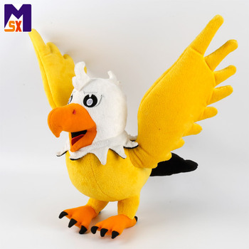 Custom stuffed animal plush flying bird toy with wings