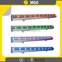 led moving light 24pcsx3w RGBW 4in1 led linear wall washer light