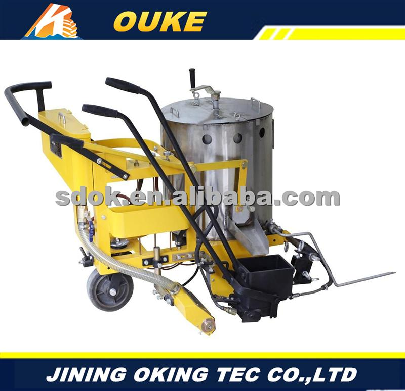 Plastic,pavement joint filling melter,road machine,hot sale road crack sealing machine price