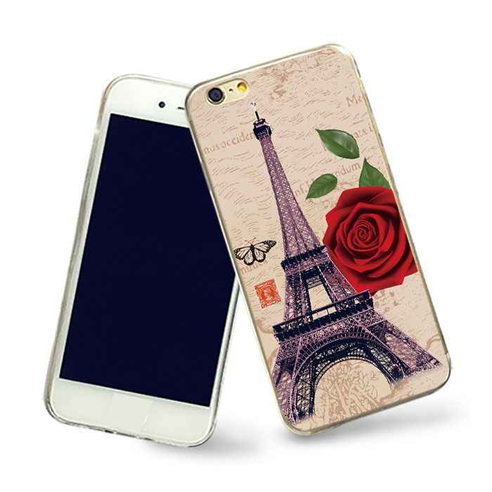 ACCEPT L/C Paris Eiffel Tower phone case for iPhone5 5s 5c se case for cellphone Picture custom phone shell