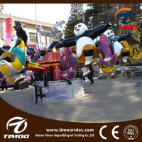 Cheap kids musement park rides KungFu Panda jumping rides for sale