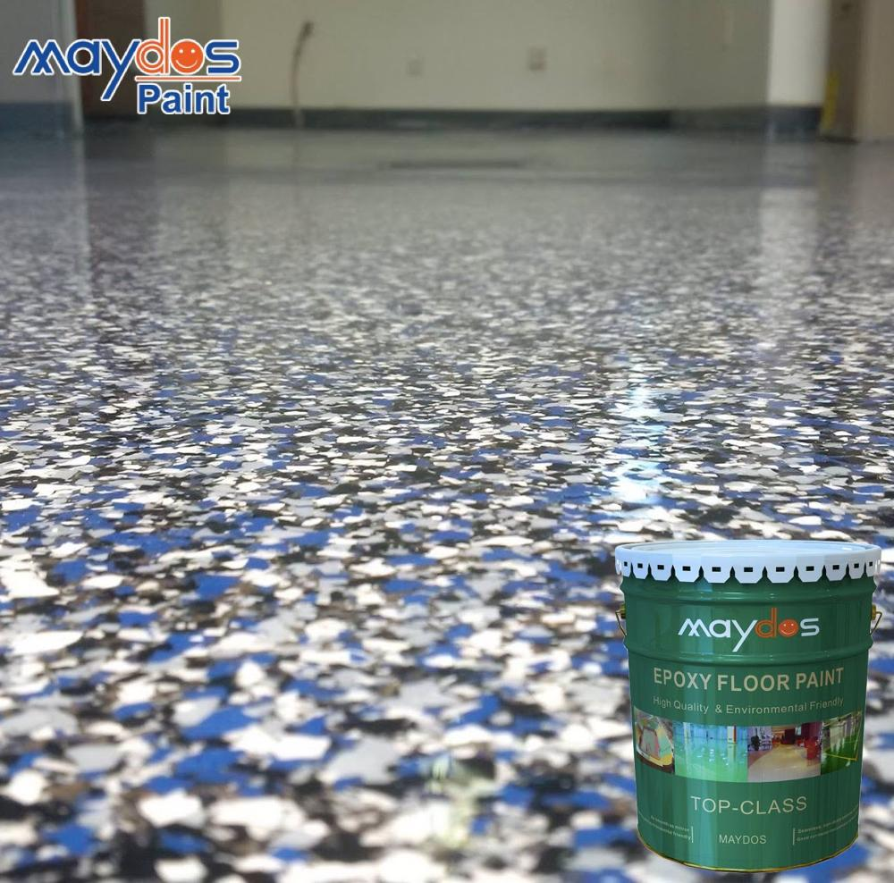 Colored Sand Artistic Clear Epoxy Floor <strong>Paint</strong> for Decoration