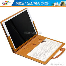 2016 newest design genuine leather 12 inch tablet pc stand case for iPad pro