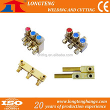 Copper Brass Accessories for Gas Distributor for CNC Cutter,wuxi longteng welding and cutting