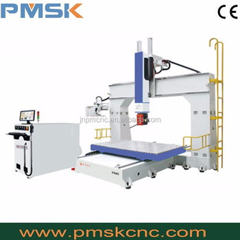 High quality factory manufacturer good price 5 axis cnc router wood PM 1224 5 axis