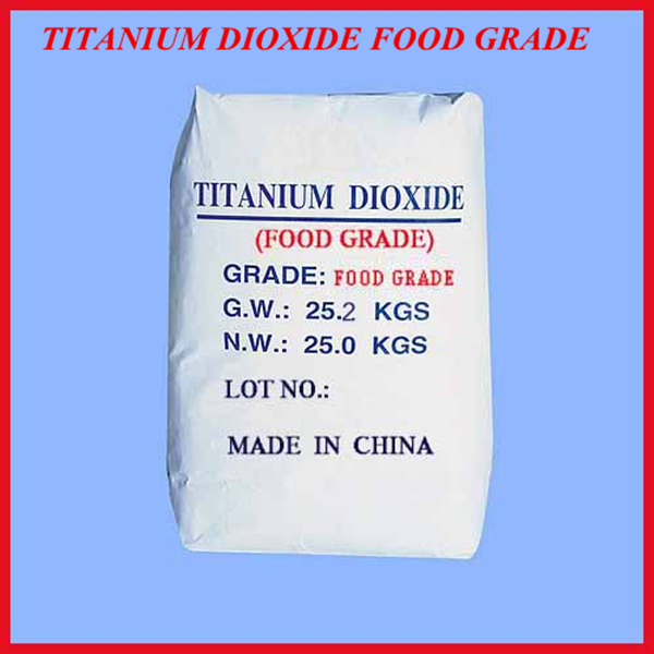 titanium dioxide food grade /tio2 from manufacturer with large supply and competitive price