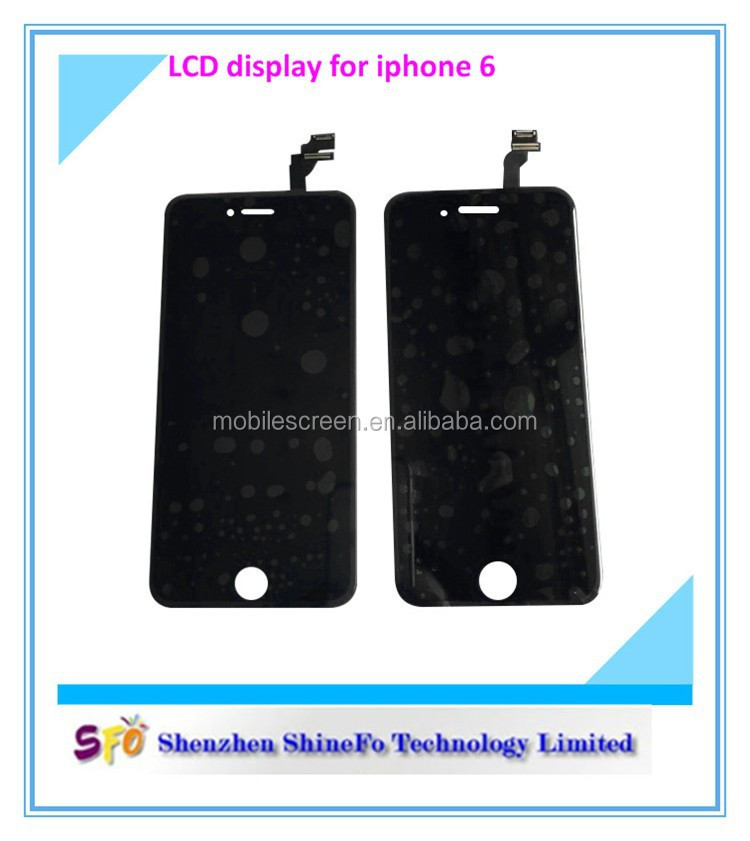Hot sale item cheap lcd big discount for iphone 6 lcd manufacturer,big touch screen china mobile phones for iphone6