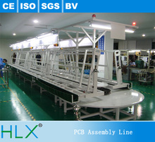 Automatic Double Sides PCB Insertion line, CFL Insertion Line with Wave Soldering Oven