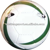 size 3 hand stitched PVC football soccer ball