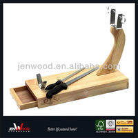 durable ham stand made of pinewood
