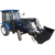 Newest high quality hot sale tractor with front end loader and backhoe