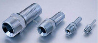 Hydraulic JIC 37 degree Flared nipple Tube Fitting