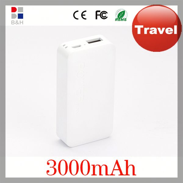 Low Price reasonable power bank with CE RoHs FCC certificate 5000 mobile power