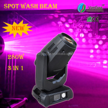 VanGaa Triple play 280 spot beam wash 280w 10r stage lighting dimmer packs