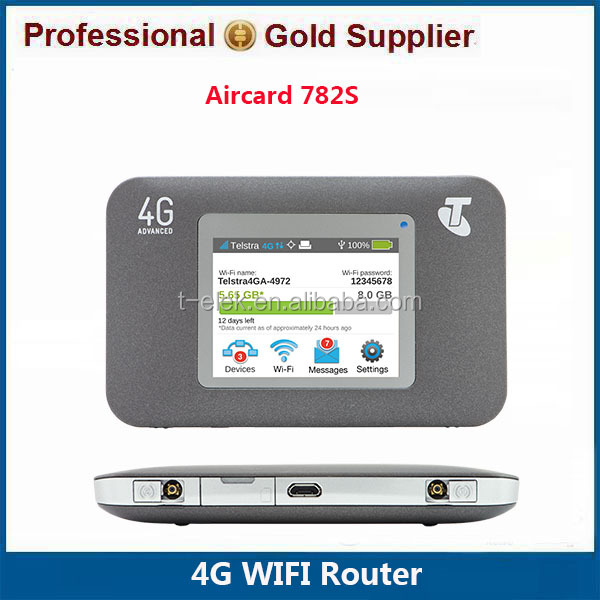 Hot Sale Original Unlock Netgear Wireless Aircard 782S Netgear 4G Mobile WiFi Router With Sim Card Slot