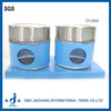 2pcs/set glass magnet spice jars