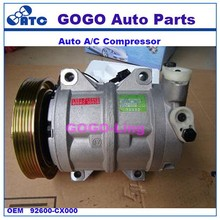 High Quality DKS17CH Air Conditioning Compressor FOR N-issan Ur-Van (PETROL) OEM 92600-CX000 506012-0231