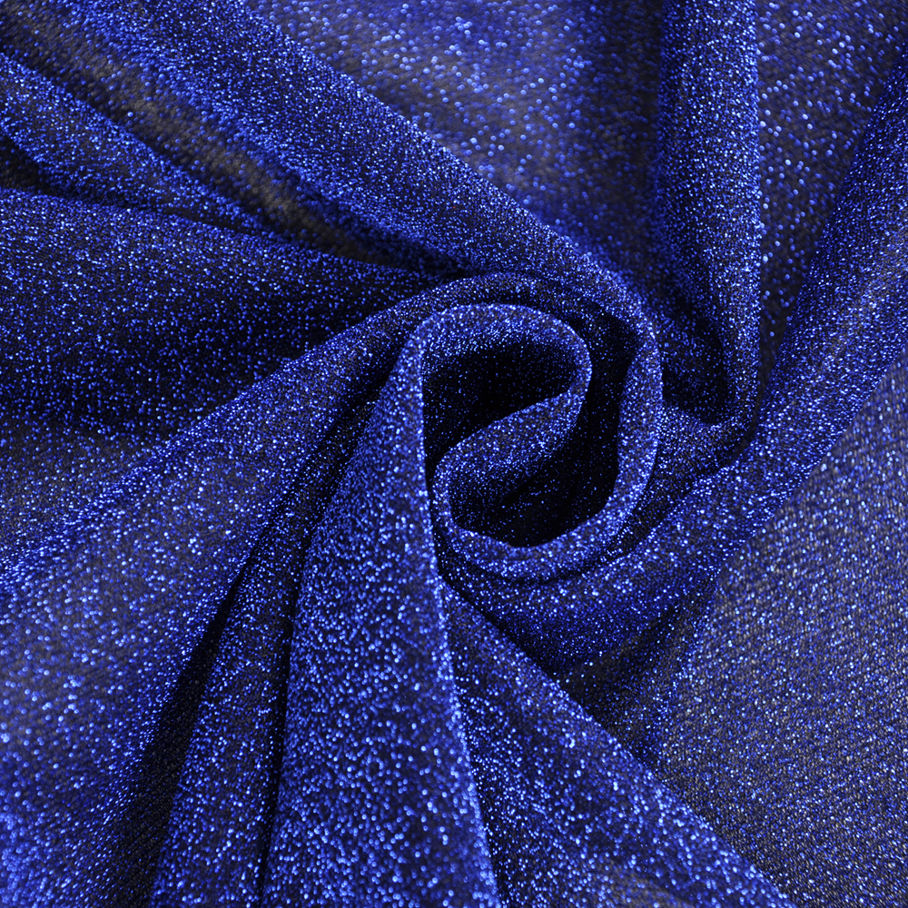 knitted fashion shiny sparkling metallic decoration garment dress fabric