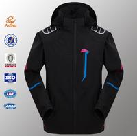 Customized new design wholesale keep warm women laides softshell ski jacket