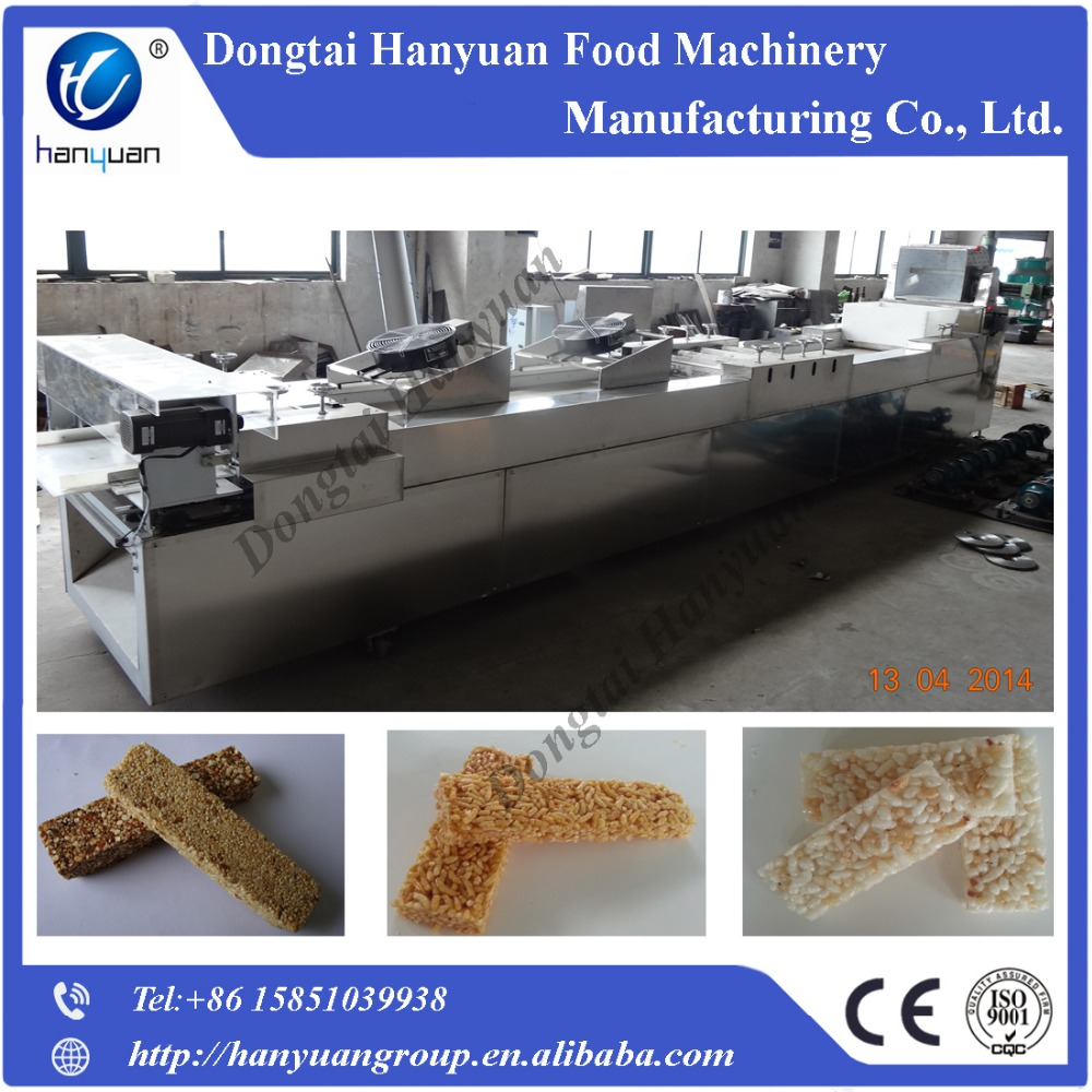 Nuts candy bar cutting line,cereal bar cutting machine