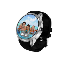 Waterproof 1.39 inch MTK6580 Dual Core Andriod 5.1 WIFI GPS 3G Unlocked Smart Watch Mobile Phone